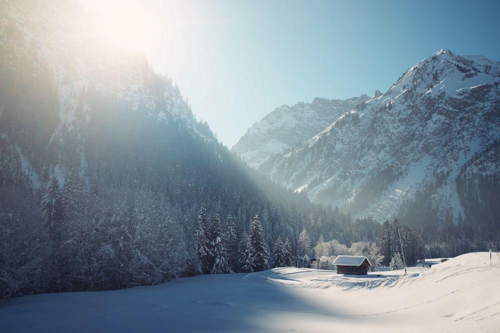 På jakt efter vintern